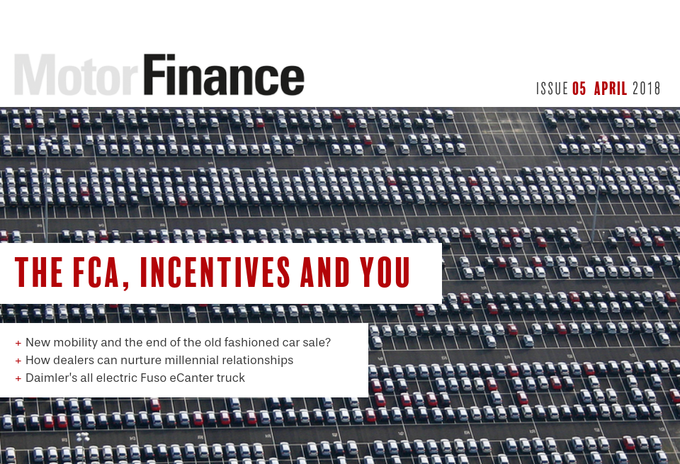 Home The Fca Incentives And You Motor Finance Issue 5 April 2018