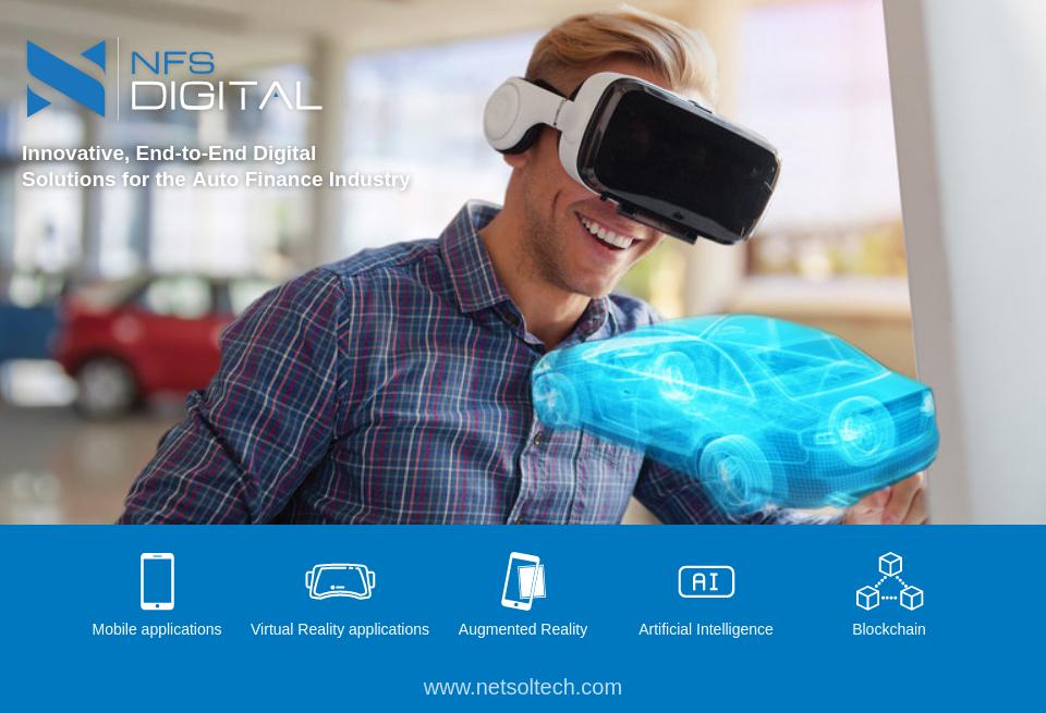 Innovative Auto Finance >> Netsol Motor Finance Issue 9 December 2018